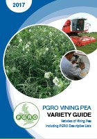 Vining Pea Variety Guide 2017